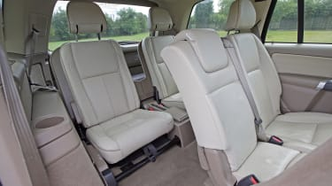 Used Volvo XC90 - rear seats