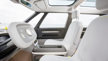 Volkswagen I.D. Buzz concept review - front seats