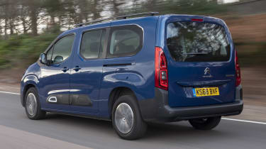 Berlingo rear tracking