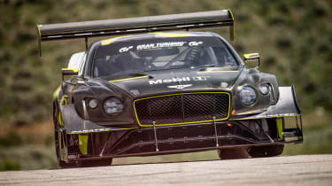 Bentley Continental GT3 Pikes Peak - front