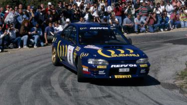 Colin McRae's Subaru Impreza 555