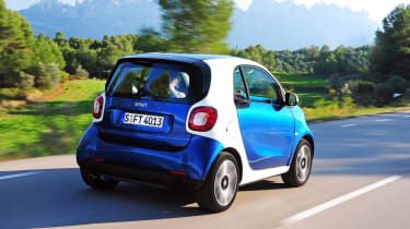 Smart ForTwo 2014 rear