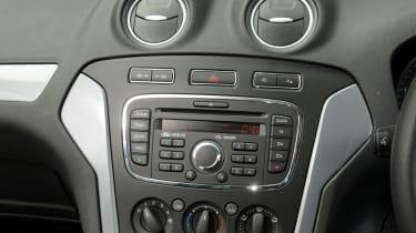 Ford Mondeo Graphite console