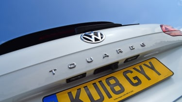 Volkswagen Touareg - rear badge