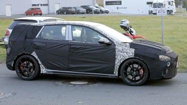 Hyundai i30 N facelift – side action