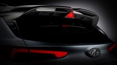 Hyundai Kona N - rear detail teaser