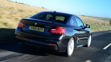 BMW 2 Series M Sport - rear tracking