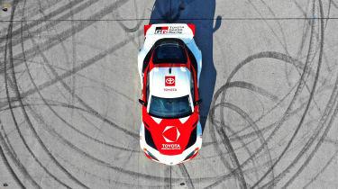 Self-drifting Toyota GR Supra