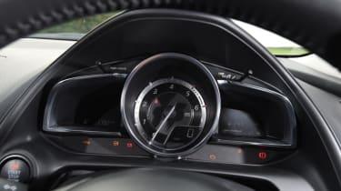 Used Mazda CX-3 - dials