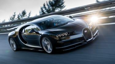 Bugatti Chiron 2016 - Dynamic Front Black