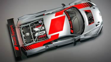 Audi R8 LMS GT3 - above