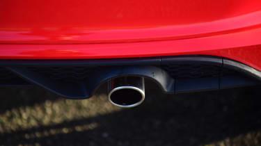 Ford Fiesta Sport Van exhaust