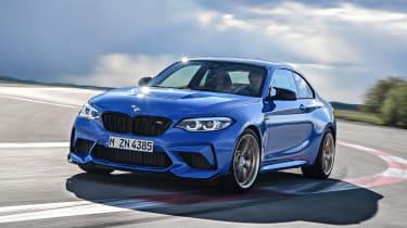 BMW M2 CS - front cornering