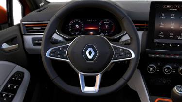 Renault Clio - steering wheel