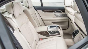 New BMW 7 Series 2015 rear seats