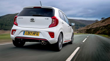 Kia Picanto GT Line - rear action