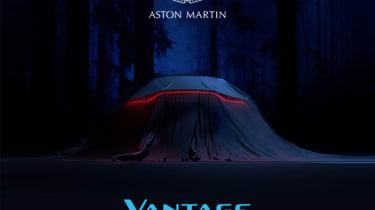 Aston Martin V8 Vantage invitation
