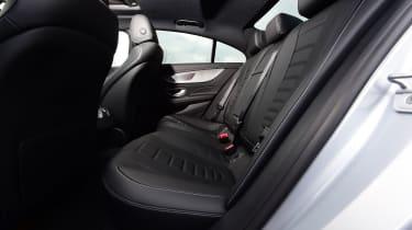 Mercedes CLS rear seats