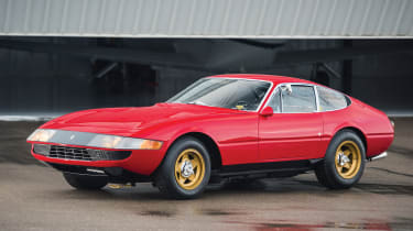 RM Sotheby's 2017 Paris auction - 1969 Ferrari 365 GTB/4 Daytona front