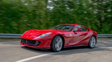 Ferrari 812 Superfast - front cornering