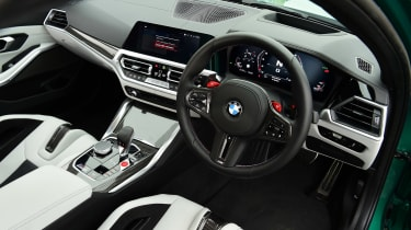 BMW M3 Competition - dash