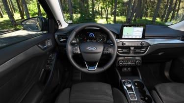 Ford Focus diesel Titanium - interior