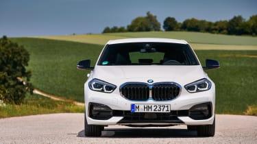 BMW 1 Series 2019 head on