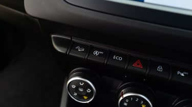 Dacia Duster controls
