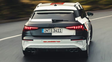 Audi S3 prototype - full rear