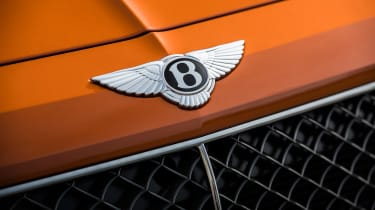 Bentley Bentayga Speed - Bentley badge