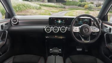 Mercedes A-Class A 180 d interior