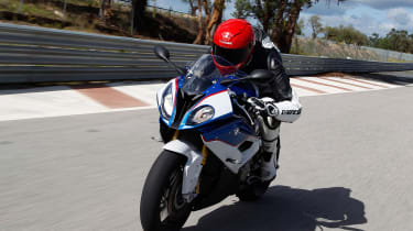 BMW S1000RR Sport tracking