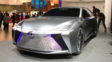 Lexus LS+ Concept - Tokyo front static