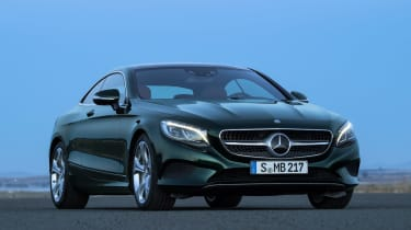 Mercedes S-Class Coupe front static