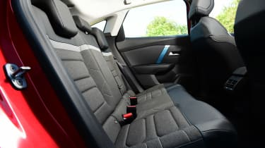 Citroen e-C4 long termer - first report rear seats