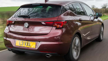 Vauxhall Astra new Ultimate trim rear