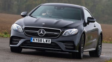 mercedes amg e53 coupe tracking front