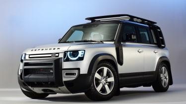 Land Rover Defender - studio front