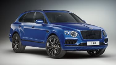 Bentley Bentayga V8 Design Series - blue