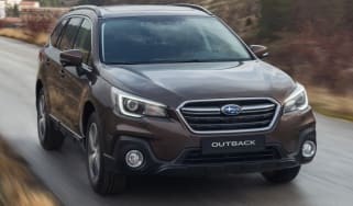 New 2018 Subaru Outback front