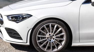 Mercedes CLA - wheel