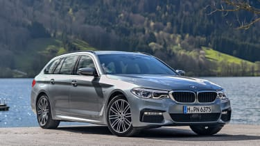 BMW 530d Touring - front static