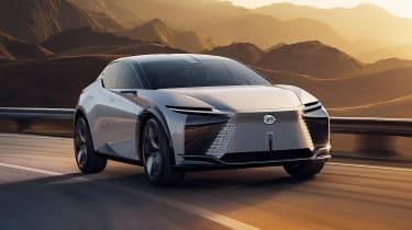 Lexus LF-Z Electrified concept - front action