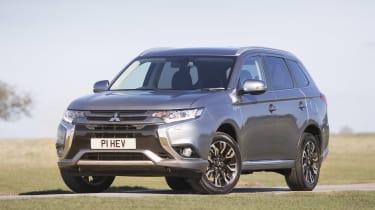 Mitsubishi Outlander PHEV Juro - front