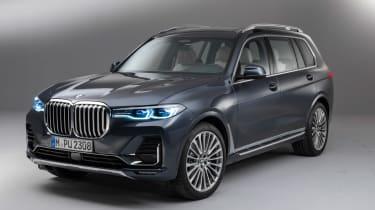New BMW X7 studio shoot