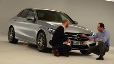 Mercedes C-Class 2014 studio interview