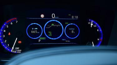 Toyota Corolla - dials