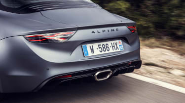 Alpine A110S - rear detail