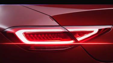 Mercedes CLS rear lights