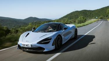 McLaren 720S - front tracking